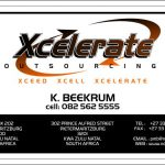 xcelerate business card 2