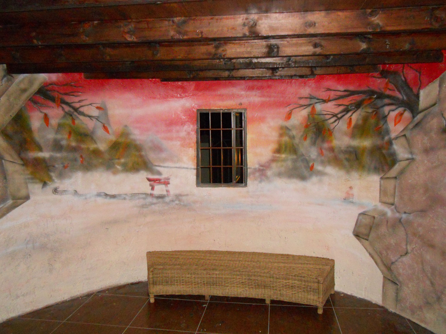 snow, walls, murals, paintings