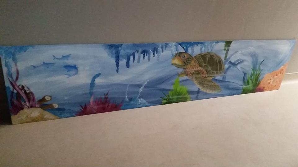 Turtle Wall Mural