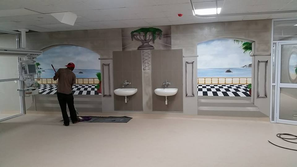 Bathroom Wall Murals